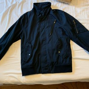 Banana republic jacket in navy, men's smallc